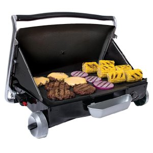 Reviews on the top two George Foreman small propane grill