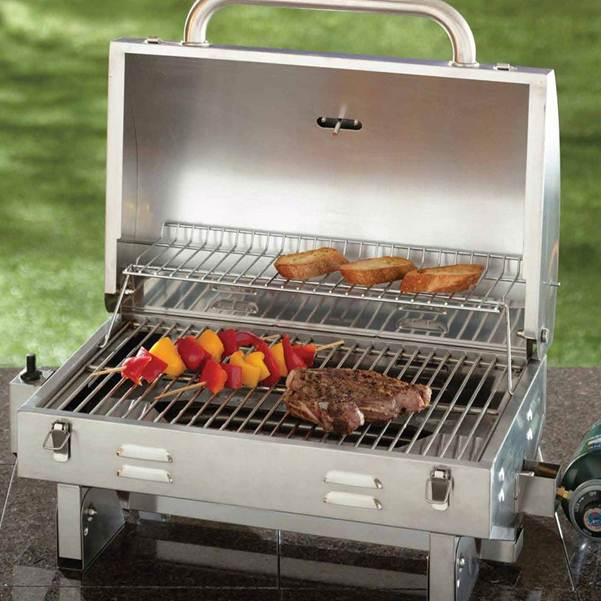 the aussie small propane grill a review of one superior quality portable grill grills news. Black Bedroom Furniture Sets. Home Design Ideas
